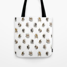 Monkey Toile Tote Bag