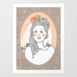 A Marriage to Suburbia Art Print