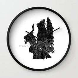 Olympia, WA Wall Clock