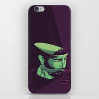 movie poster iPhone & iPod Skins featuring Enemy - Alternative movie poster by FourteenLab