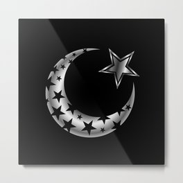 The Islamic star Metal Print