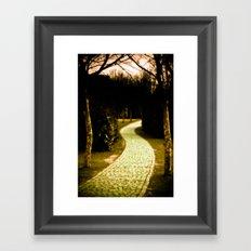 The way to Wonderland Framed Art Print