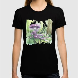 Empire of Mushrooms: Laccaria Amethystina T-shirt