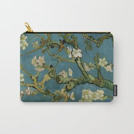 Blossoming Almond Tree Vincent Van Gogh Carry-All Pouch