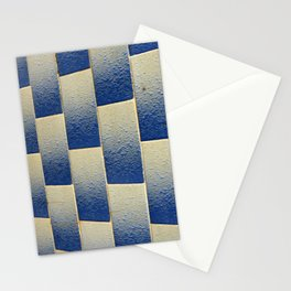 White to Blue Stationery Cards