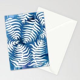 Caribean Blue Palms Stationery Cards