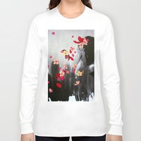 rush Long Sleeve T-shirts featuring Rush by Stasia B