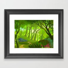 Universal Forest Framed Art Print