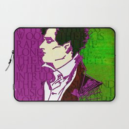 LORD BYRON, POET, HELLRAISER AND MADMAN Laptop Sleeve
