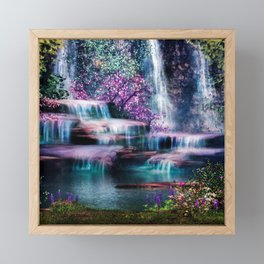 Fantasy Forest Framed Mini Art Print