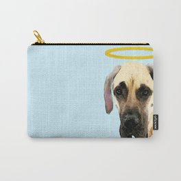 Great Dane Art - I Didn't Do It Carry-All Pouch