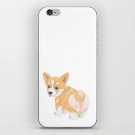 Welsh Corgi puppy iPhone Skin