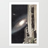 Beautiful Cosmos Art Print