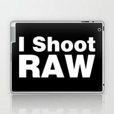 Photography - I Shoot RAW Laptop & iPad Skin