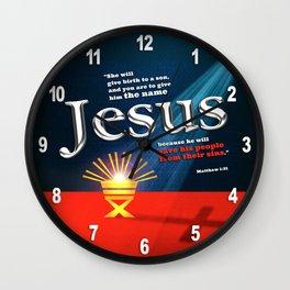 The Name Wall Clock
