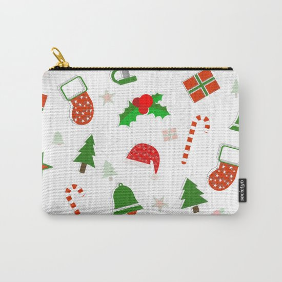 Christmas Pattern #2 Carry-All Pouch