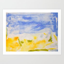 Summer Siesta Art Print