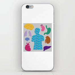 Human Body_A iPhone Skin