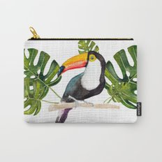 Watercolor toucan Carry-All Pouch
