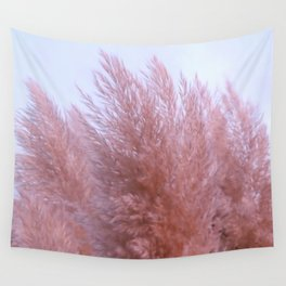 Pink Pampas Wall Tapestry
