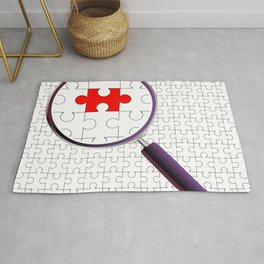 Odd Piece Magnifying Glass Rug