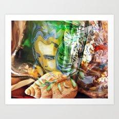 Dada's Life Within Art Print