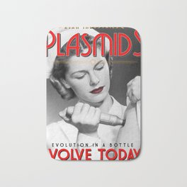 Plasmid Poster Bath Mat