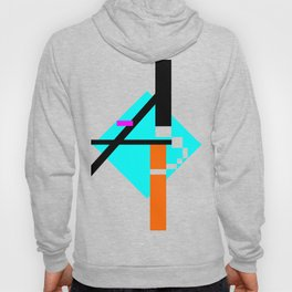 Abstract typo Hoody