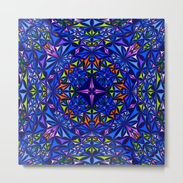 Kaleidoscope 2. Metal Print