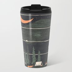 Wish I Was Camping... Metal Travel Mug
