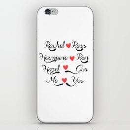 Valentine's Romance: books-tv iPhone Skin