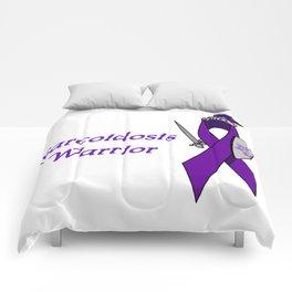 Sarcoidosis Warrior Comforters