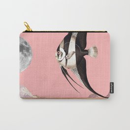 Plenty of fish in the sea Pink Carry-All Pouch