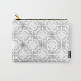 Flower Lines Carry-All Pouch