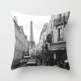 Rue St Dominique Throw Pillow