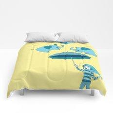 Braving the Elephants. Comforters