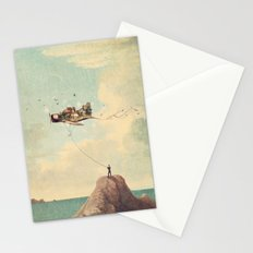 City Kite Afternoon Stationery Cards
