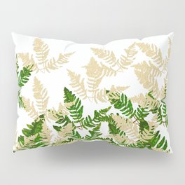PALM LEAF FERN LEAF TROPICAL Pillow Sham