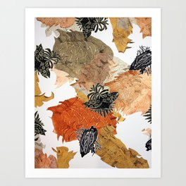 Carbonation Collection: pumpkin Art Print