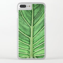 leaf vein [muted] Clear iPhone Case