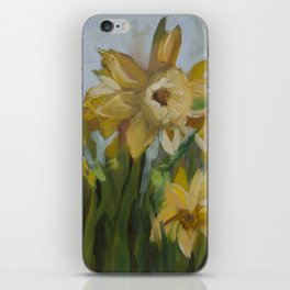 Clouds of Daffodils iPhone Skin
