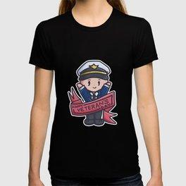 Veteran Parade proud soldier Captain Comic Gift T-shirt