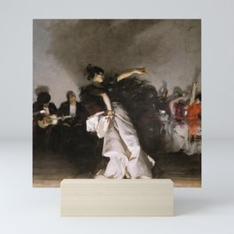 El Jaleo (Spanish Dancer) - John Singer Sargent Mini Art Print