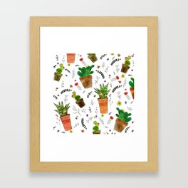 Houzz Plants Framed Art Print