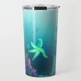 Deep down in the water Travel Mug