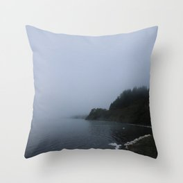 Lost Dusk Throw Pillow