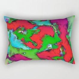 The predictable glass Rectangular Pillow