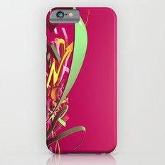 3d graffiti - Rush iPhone 6s Slim Case
