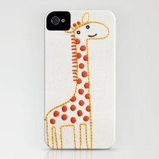 G Giraffe iPhone (4, 4s) Slim Case