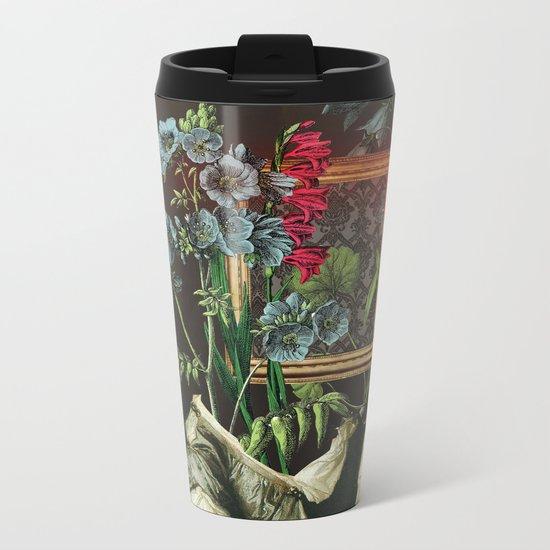 Florales Portrait Disaster Metal Travel Mug